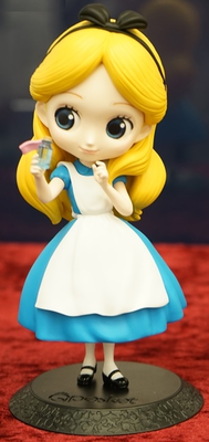 Q Posket Disney Characters Alice Thinking Time Normal Ver.