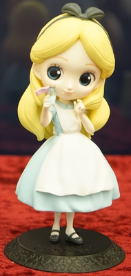 Q Posket Disney Characters Alice Thinking Time Pastel Ver.