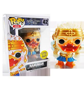 Legendary Creatures and Myths Glow in the Dark Hanuman Exclusive Pop! Vinyl Figure