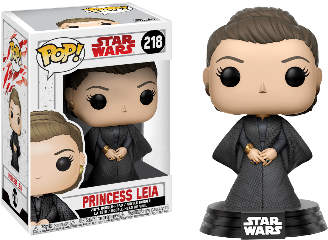 PRE-ORDER Star Wars - Princess Leia with Cloak Episode VIII The Last Jedi Exclusive Pop! Vinyl