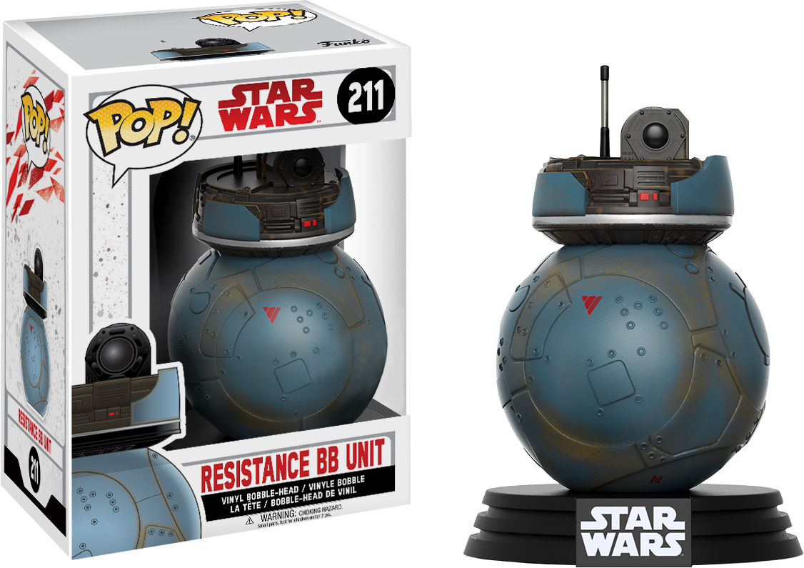 PRE-ORDER Star Wars - Resistance BB Unit Episode VIII Exclusive Pop! Vinyl