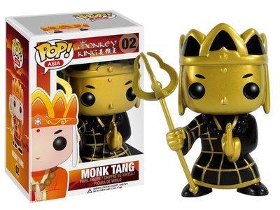 Monkey King - Monk Tang  Gold Exclusive Pop! Vinyl Figure