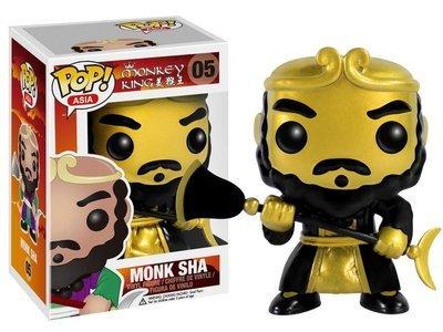 Monkey King - Monk Sha  Gold Exclusive Pop! Vinyl Figure