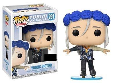 Yuri!!! on Ice - Young Victor Flower Crown Exclusive Pop! Vinyl  Figure