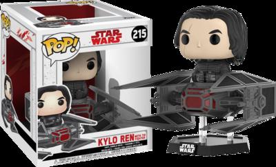 Star Wars Episode VIII: The Last Jedi - Kylo Ren in Tie Fighter Deluxe Pop! Vinyl Figure