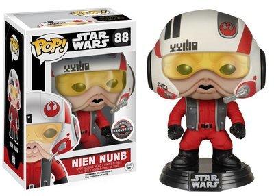 Star Wars - Nien Numb with Helmet Gamestop Exclusive Pop! VInyl FIgure