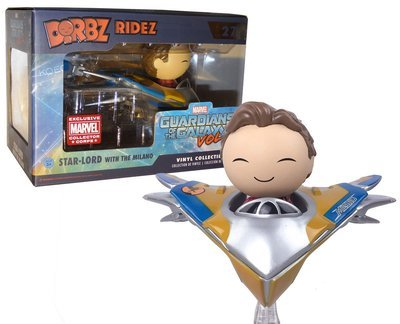 Guardians of the Galaxy Vol. 2 - Star-Lord with Milano Dorbz Vinyl Figure