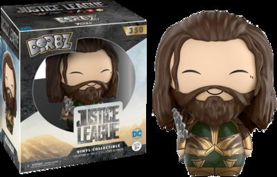 Justice League 2017 - Aquaman Armored Dorbz Vinyl Figure