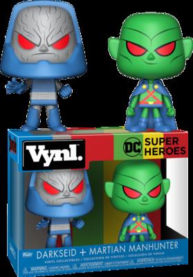 DC Comics - Martian Manhunter and Darkseid Vynl. Vinyl Figure 2-Pack