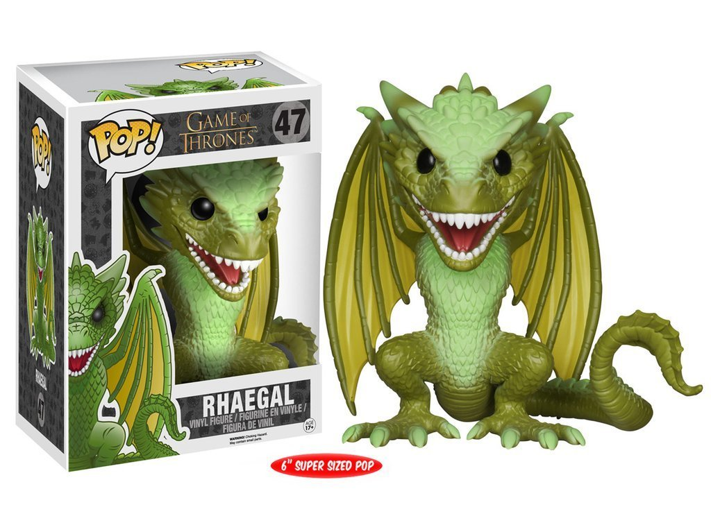 "PRE-ORDER Game of Thrones Rhaegal 6"" Pop! Vinyl Figure"