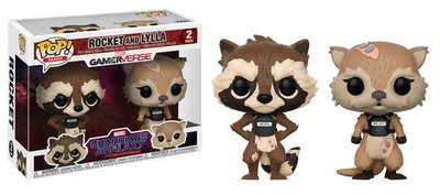Guardians of the Galaxy: Tell Tales Rocket Raccoon and Lylla Pop! Vinyl Figure 2-Pack
