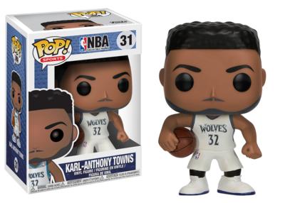 NBA: Karl Anthony Towns Pop! Vinyl Figure