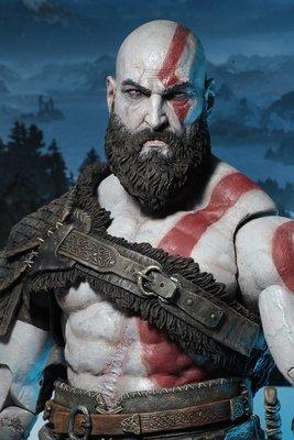 PRE-ORDER  1/4 Scale God of War 4 Kratos Figure