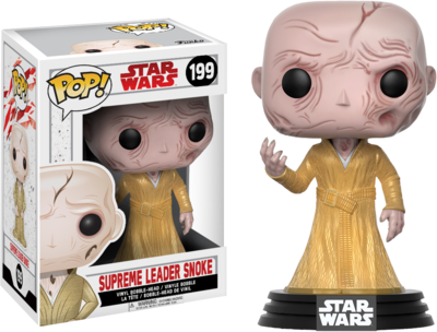 Star Wars Episode VIII: The Last Jedi - Supreme Leader Snoke Pop! Vinyl Figure
