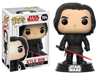 Star Wars Episode VIII: The Last Jedi - Kylo Ren Pop! Vinyl Figure