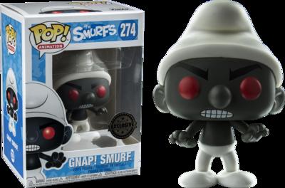 The Smurfs - GNAP! Black Smurf Exclusive Pop! Vinyl Figure