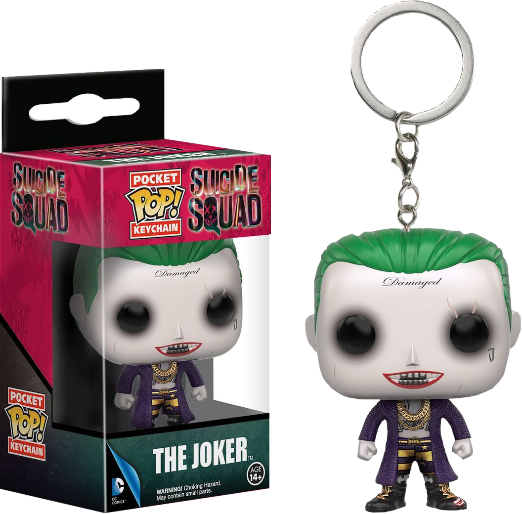 Suicide Squad - Joker Pocket Pop! Vinyl Keychain