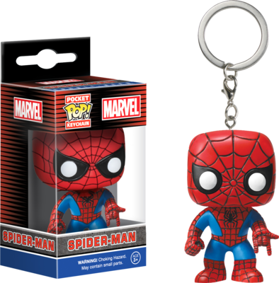 Spider-Man - Spider-Man Pocket Pop! Vinyl Keychain