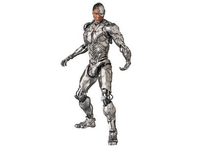 PRE-ORDER Justice League Cyborg MAFEX Action Figure