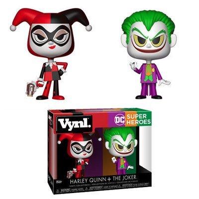DC Super Heroes Harley Quinn and The Joker 2-pack VYNL Figure