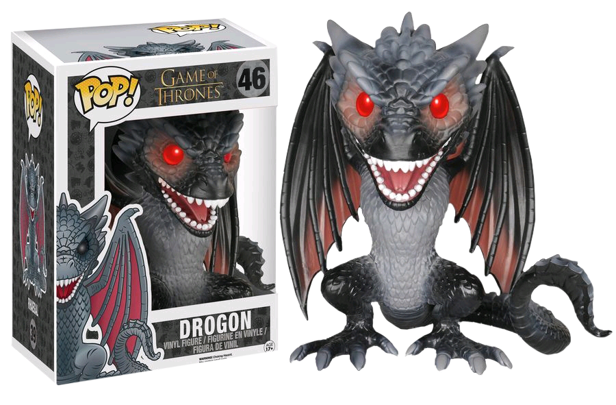 "PRE-ORDER Game of Thrones - Drogon 6"" Super-Sized Pop! Vinyl Figure"