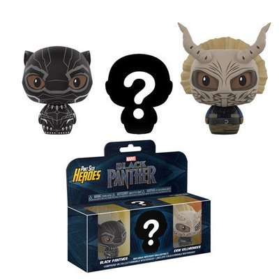 Black Panther - Black Panther 3 - Pack Pint Sized Heroes VInyl Figure