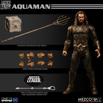 PRE-ORDER One : 12 Collective Aquaman Justice League