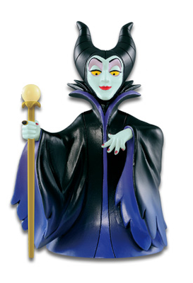 Disney Characters World Collectible Figure Villains Collection Maleficent