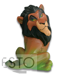 Disney Characters World Collectible Figure Villains Collection Scar
