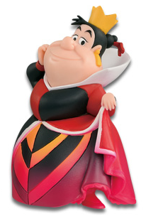 Disney Characters World Collectible Figure Villains Collection Queen of Hearts