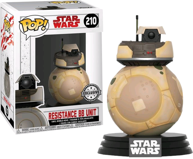 Star Wars Episode VIII: The Last Jedi - Orange Resistance BB Unit Excluive Pop! Vinyl Figure