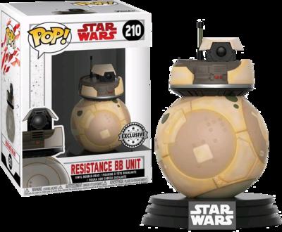 Star Wars Episode VIII: The Last Jedi - Orange Resistance BB Unit Excluive Pop! Vinyl Figure