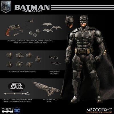 PRE-ORDER One : 12 Collective Tactical Suit Batman  Justice League