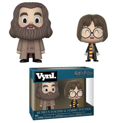 Harry Potter - Harry and Hagrid Vynl. Vinyl Figure 2-Pack