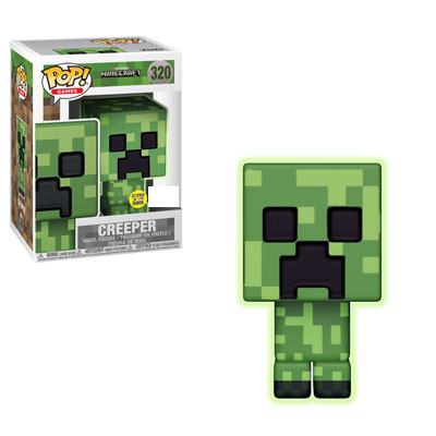 Minecraft - Creeper Glow in the Dark Exclusive Pop! Vinyl Figure