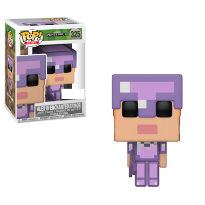 Minecraft - Alex in Enchanted Armor Exclusive Pop! Vinyl Figure