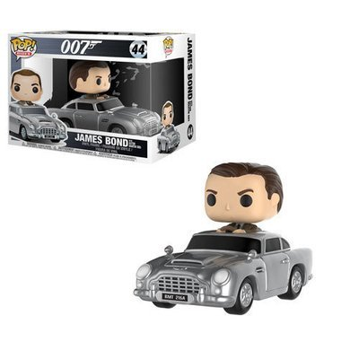 James Bond - James Bond in Aston Martin DB5 Pop! Ride Vinyl Figure