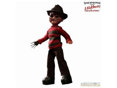 PRE-ORDER Living Dead Dolls: A Nightmare on Elm Street Freddy Krueger