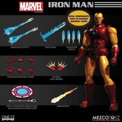 PRE-ORDER ONE:12 COLLECTIVE Iron Man