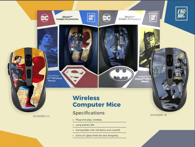 Ekonic Limited Edition Wireless Mouse