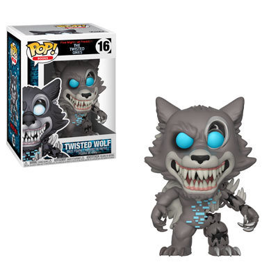 Five Nights at Freddy's - Twisted Wolf Pop! Vinyl Figure