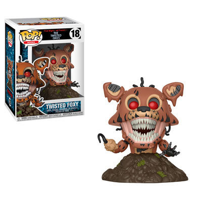 Five Nights at Freddy's - Twisted Foxy Pop! Vinyl Figure