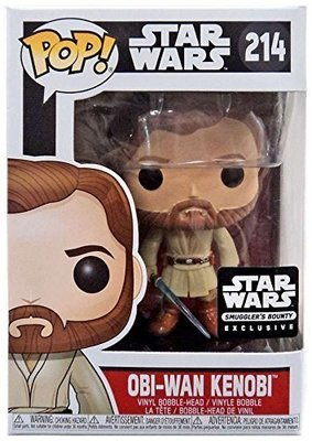Star Wars - General Obi-wan Kenobi  Smuggler's Bounty Exclusive Pop! Vinyl Figure