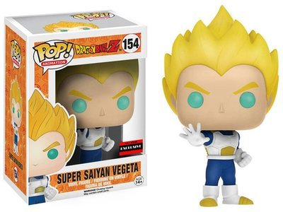 Dragon Ball Z - Super Saiyan Vegeta Exclusive Pop! Vinyl Figure