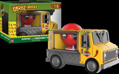 Deadpool - Chimichanga Truck Dorbz Ridez Vinyl Figure