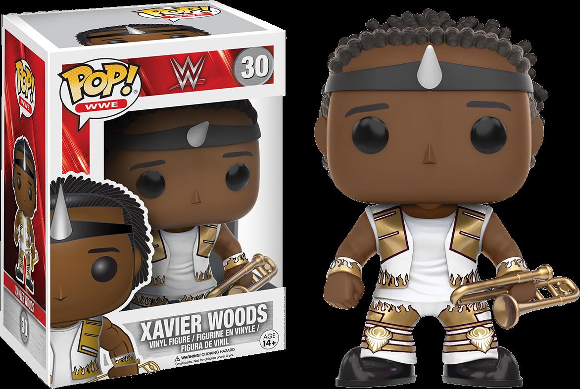 WWE - Xavier Woods Pop! Vinyl Figure