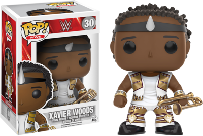 WWE - Xavier Woods Pop! Vinyl Figure