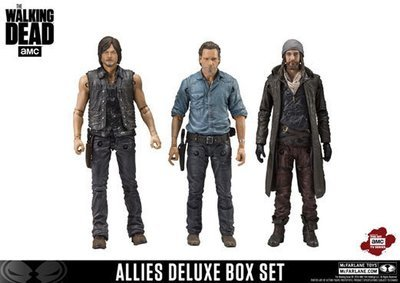 PRE-ORDER The Walking Dead - Allies Deluxe Box Set (Rick, Daryl and Jesus)