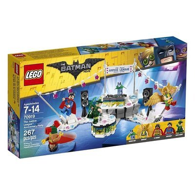 LEGO Batman The Justice League Anniversary Party
