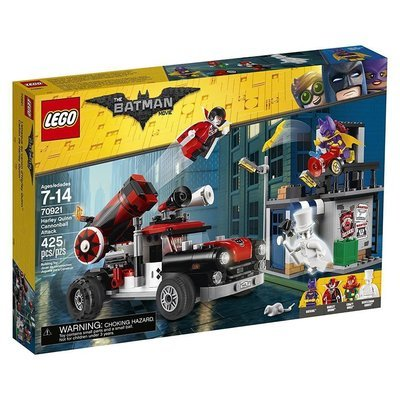 LEGO Batman Harley Quinn Cannonball Attack